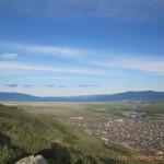 Вид с горы Алтайки