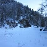 Грот Куйлу зимой