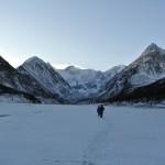 Озеро Аккем зимой