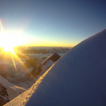 Восход на вершине