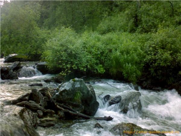 Река Юстик