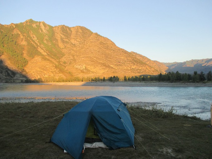 Слияние рек Чуи и Катуни