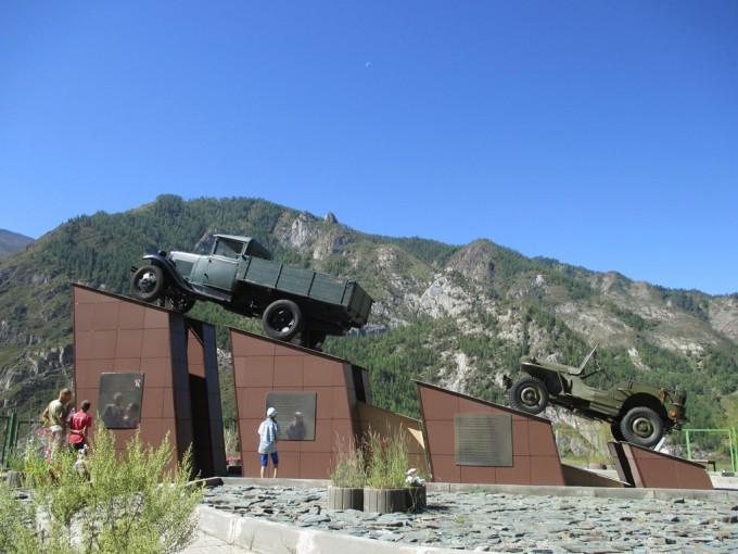 Памятник Кольке Снегирёву