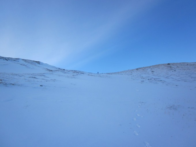 На спуске с перевала Каратюрек