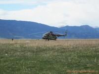 Вертолет пограничников