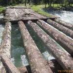Остатки моста через Кучерлу