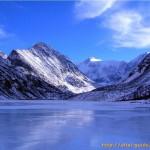 Белуха зимой