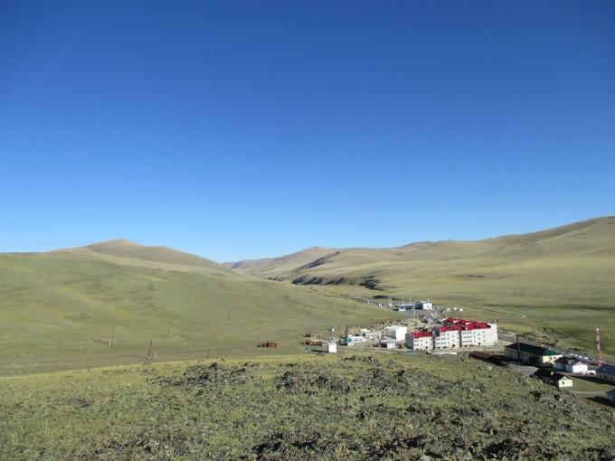 Ташанта. Там вдали - Монголия