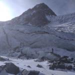 Начало Аккемского ледника