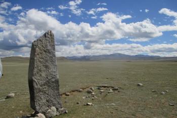 Син-Тас, камень в Чуйской степи