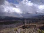 Вершина Тияхты, радуга